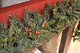 Ghirlanda di Natale 200cm con frutti di bosco