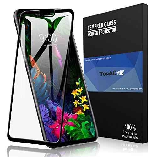 TopACE Schutzfolie für LG G8 ThinQ, LG G8 ThinQ Panzerglas Premium Gehärtetes Glas Bildschirmschutz für LG G8 ThinQ