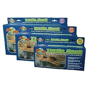 Zoo Med Turtle Dock - Isola galleggiante con rampa, in varie misure (Mini)