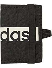 adidas LIN Per Wallet - Wallet, Adult Unisex, Black (Black/Black/White), NS