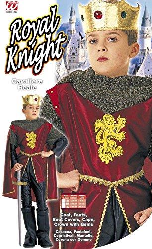 Königliches Ritter-Kostüm für Jungen 110/122 (5-7 Jahre) - 2