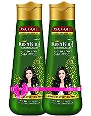 Kesh King Scalp and Hair Medicine Shampoo, Pack Of 2, 340 ml