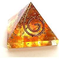 Reiki heilende Energie geladen Krystal Gifts UK Bernstein Crystal Chip Energetische Pyramide (ca. 2x 2x 2cm... preisvergleich bei billige-tabletten.eu