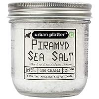 Urban Platter Piramyd Sea Salt, 150g / 5.29oz [Large Flaked, Finishing Salt, Pyramid Shape]