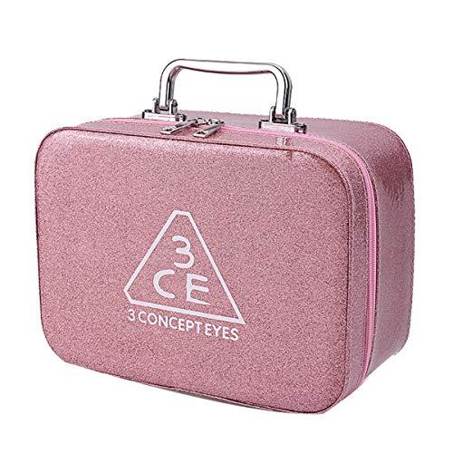 Zerol Frau Reise Kosmetiktasche Tragbar Aufbewahrungstasche Mini Praktischer Einfarbig Wasserfest Waschbeutel