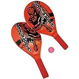 Amijoc Toys A1200329 - Juegos al Aire Libre y Deportes, Playa Raqueta - Spiderman