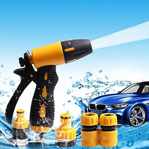 ZREAL Agua–Pulverizador de Alta presión de Goma Juego de Herramientas de Lavadora para el jardín de Limpiar el Auto de vehículo Trabajo