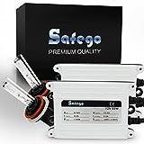 Safego HKA1255-70BW-H8911-6K 55W H8 H9 6000K HID Xenon Umbausatz Lampe Schlank HID XENON Scheinwerfer Nachrüstsatz Set