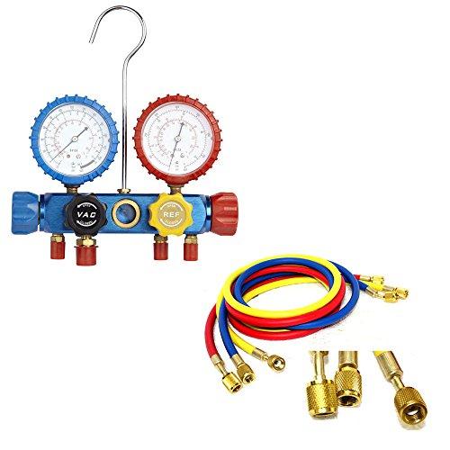 Klimaanlage AC Diagnose ein/C vielfältige Gauge Werkzeug Kältetechnik r-410a