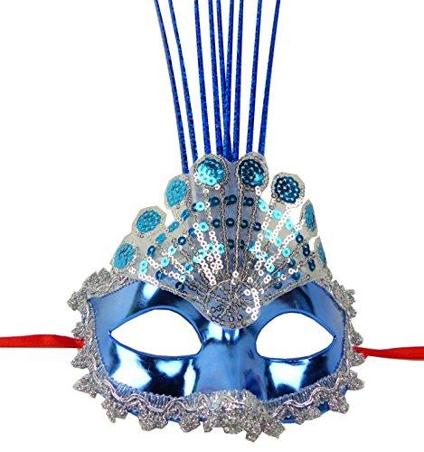 Maschera lampadina led uomo donna maschere della piuma della maschera elegante maschera veneziana carnevale del fronte della maschera di carnevale della piuma della maschera 4947