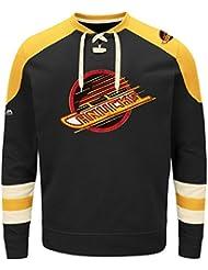 "'Vancouver Canucks Majestic NHL ""Vintage Centre Men' s Jersey Crew–Sudadera, small"