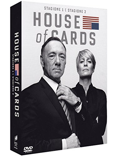 Foto House of Cards Boxset - Stagione 1+2 (8 DVD)