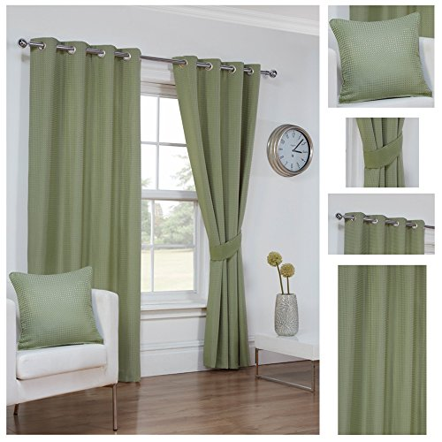 Kitchen Curtains Amazon Co Uk: Sage Green Curtains: Amazon.co.uk