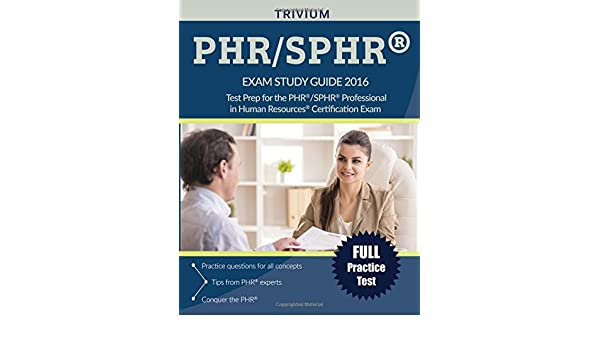 buy phr / sphr exam 2016: test prep for the phr/sphr professional in ...