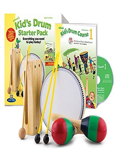 Alfred's Kid's Drumset Course Complete Starter Pack: Everything You Need to Play Today! (Book, CD, & Accessories) (Kid's Drum Course) by Dave Black (2014-09-01)