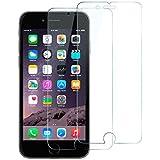 """[Pack de 2] Anker GlassGuard Films Protecteurs Plein Ecran pour iPhone 6 - Protection en Verre Trempé Ecran Intégral pour Apple iPhone 6 (4.7"""") avec GARANTIE A VIE"""