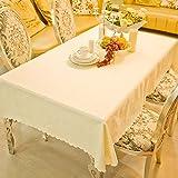 ZB Mantel Europeo De Mantel De Color Sólido Moderno Mesa De Mantel De Mesa De Simplicidad ( Color : 2# , Tamaño : 140*160cm )