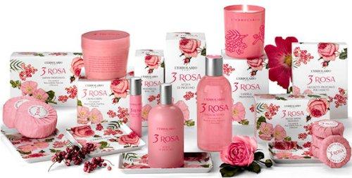 Lerbolario 3 Rosa Bade- und Duschgel 250 ml