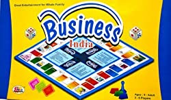 BUSINESS INDIA Great entertainer for hole family! A game of buying, selling, banking Mortgaging etc. So, lets play prove yourself the wealthiest person of the nation. Age 5+