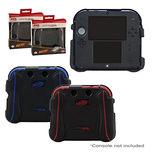 Nintendo 2DS Case - Nerf Impact Resistant Protective Textured Grip Armor Case by PDP