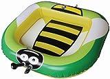Bieco 22023048 - Babypool Bienchen mit Fühlern, 90 x 80 x 20 cm