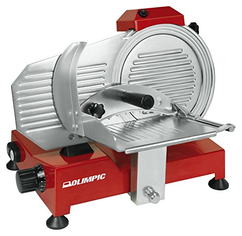 Olimpic 53121Aufschnittmaschine halbautomatische, Rot