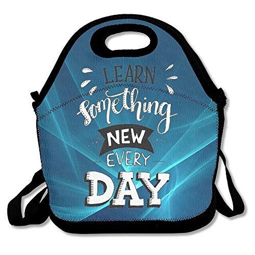 Lunch Tote lernen Everyday Lunch-Boxen Lunchpaket Handtasche Lebensmittel Aufbewahrung passend für Schule Reisen Arbeit Outdoor -