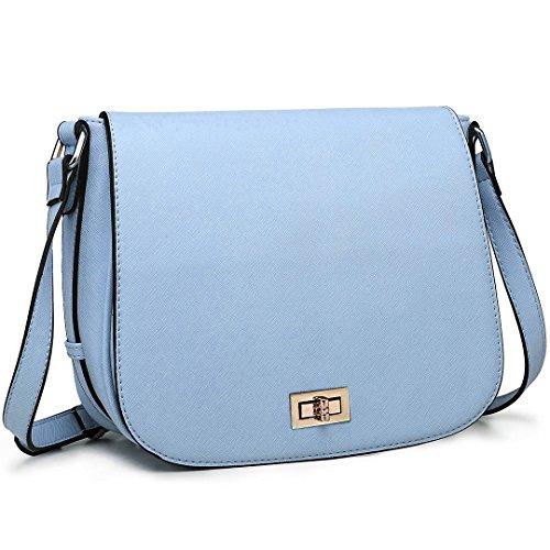 Miss Lulu , Damen Umhängetasche Einheitsgröße 1662 Blue