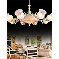 Goud lampadario lampadari 220V bianco europeo classico