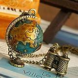 ITS-Terrestrial Globe Shape Copper Neckl...