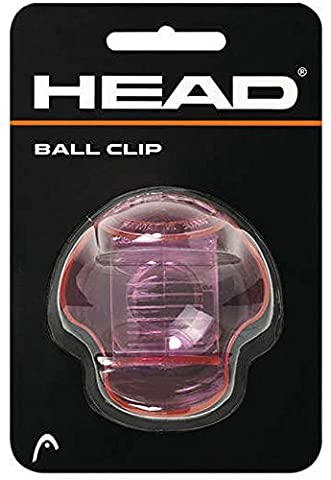 Head Balle de tennis porte-pince transparente rose