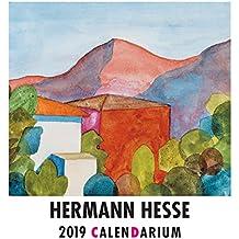 Hermann Hesse Calendarium 2019: Handlicher Tischkalender mit Aufsteller. Monat für Monat. Mit dreizehn Aquarellen des Dichters und jahreszeitlichen Gedichten