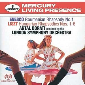 ENESCO : Rhapsodie Roumaine No. 1 / LISZT : Rhapsodies hongroises [Import anglais]