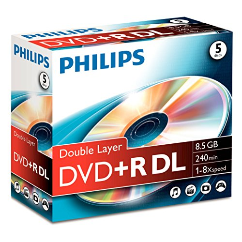 Philips DVD+R DR8S8J05C - DVD+R DL 8.5 GB