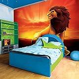 Wizard + Genius WG-3205P4-LC Fototapete Der König der Löwen
