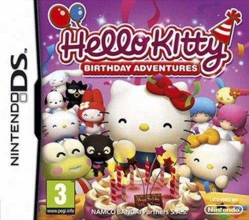 Namco Bandai Games  Hello Kitty: Birthday Adventures - Hello Kitty Birthday Giochi