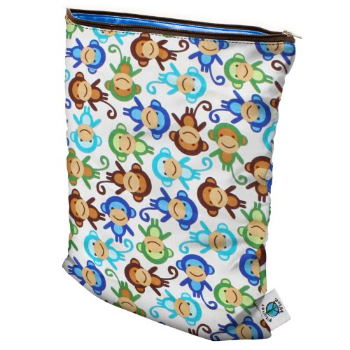 planet-wise-wet-diaper-bag-monkey-fun-medium