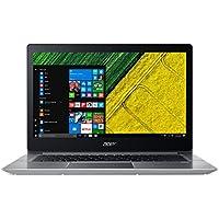 """Acer Swift 3 SF314-52-570N Notebook, 14"""" FHD LCD, Intel Core i5-7200U, RAM 8 GB DDR4, 256 GB Intel PCIe SSD, Argento"""