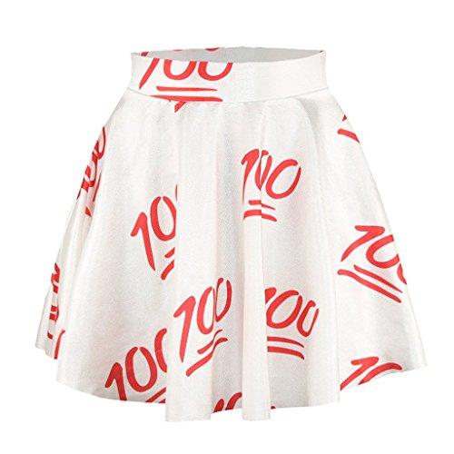 Chicas Linda 100 Puntos Patrón Faldas Vestido De La Princesa De La Falda De La Trompeta De La Falda De La Roca
