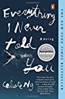 Everything I Never Told You by Celeste Ng par Ng