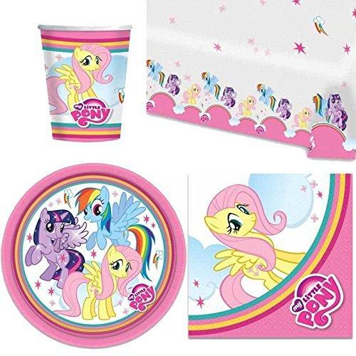 My Little Pony Lustrini Festa Stoviglie Confezione