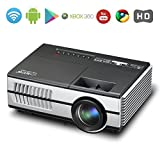 Android Wifi Projector Mini Video LCD Projector 1500 Lumen Portable Multimedia Home Cinema