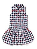 Best Dress Shirts - Cub McPaws Women's Cotton Plaid Shirt Dress Review