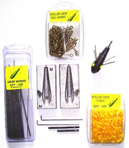 TraceAce Tackle - Kit per stampo per piombo da pesca, 170 g