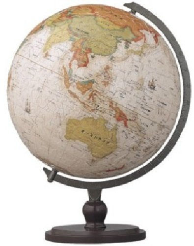 3D sphere puzzle 540 piece antique globe (Japanese) (diameter of about 22.9cm) (japan import)
