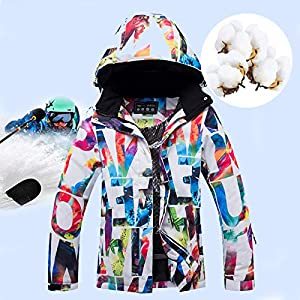 Fayella Skianzug, Winter Ski Jacken Damen Schnee Warm Winddicht Skianzüge Wintersport Kombi Ski Enfant Snowboard Set