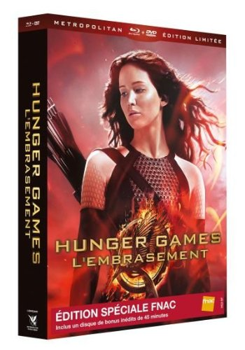 Hunger Games 2 : L'embrasement Combo 3 Blu-Ray + 2 DVD Edition Limitée Spéciale