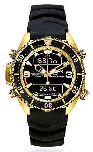 Chris Benz Armbanduhr CB-D200-MK2 Herrenuhr