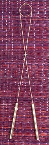Wünschelrute aus Messing 40 cm | Radiästhesie Tesnsoren Pendel Ruten | Esoterik Geschenke günstig online kaufen