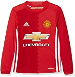 ADIDAS Kinder Manchester United Replica Trikot, Real Power Red/White, 164